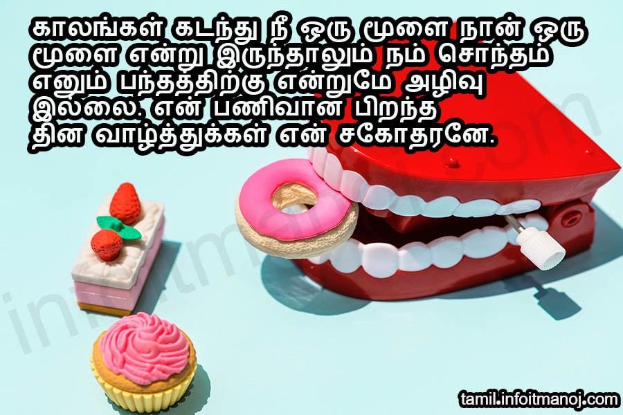 Sagotharan Anna Thambi Pirantha Naal Tamil Birthday Wish